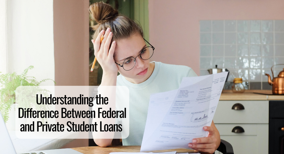 image of female college student confused about student loans